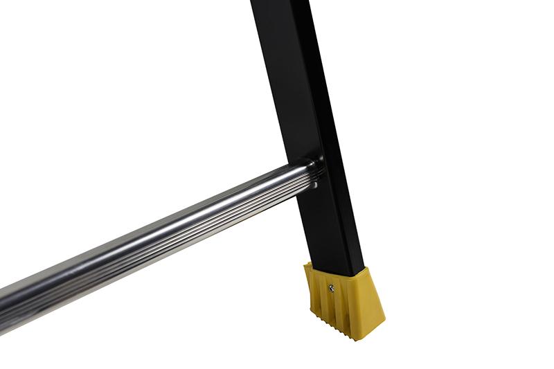 Стремянка алюминиевая с перилами Centaure MP10 435210/438210