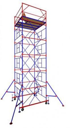 "Вышка-тура ""МЕГА 3"", Н-12,4 м( без стабилизатора)"