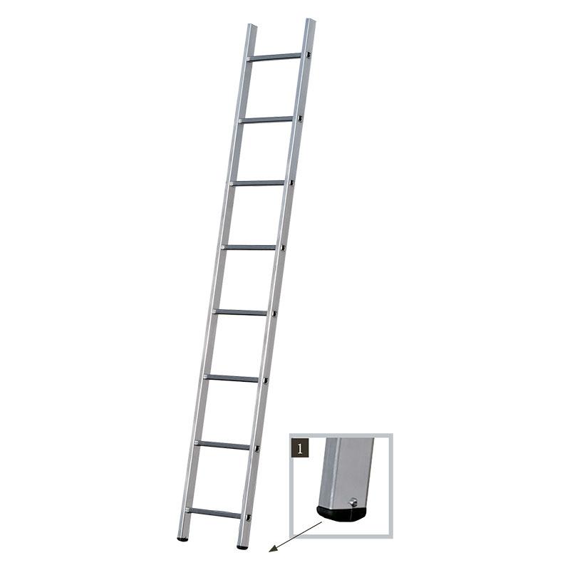 Односекционная алюминиевая лестница Centaure BS 1x8