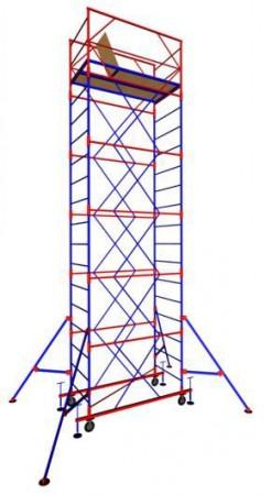 "Вышка-тура ""МЕГА 2"", Н-18,4 м( без стабилизатора)"