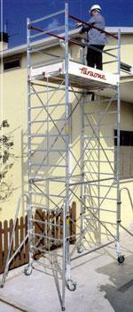 Вышка-тура алюминиевая FARAONE RAPIDO 180 13,85 м