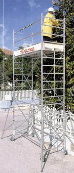 Вышка-тура алюминиевая FARAONE RAPIDO 250  9,98 м