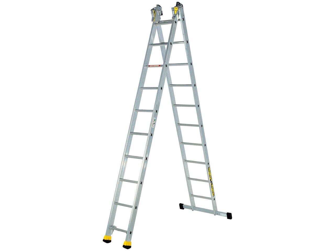 Двухсекционная алюминиевая лестница-стремянка Centaure AT2x12