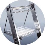 Рабочая площадка для лестниц ELKOP VHR (разм. 26х26,5 см)