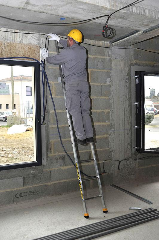 Односекционная алюминиевая лестница Centaure S 1х12 (410112)