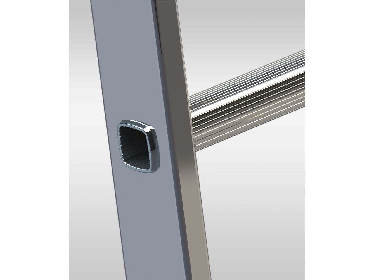 Односекционная алюминиевая лестница ELKOP VHR 1x10 HK