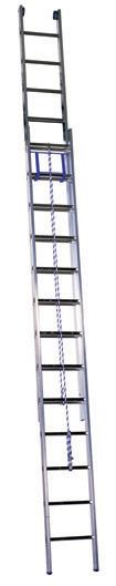Лестница выдвижная двухсекционная алюминиевая Centaure PEC 2х18