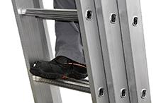 Трехсекционная алюминиевая выдвижная лестница Centaure C 3х20 NEW