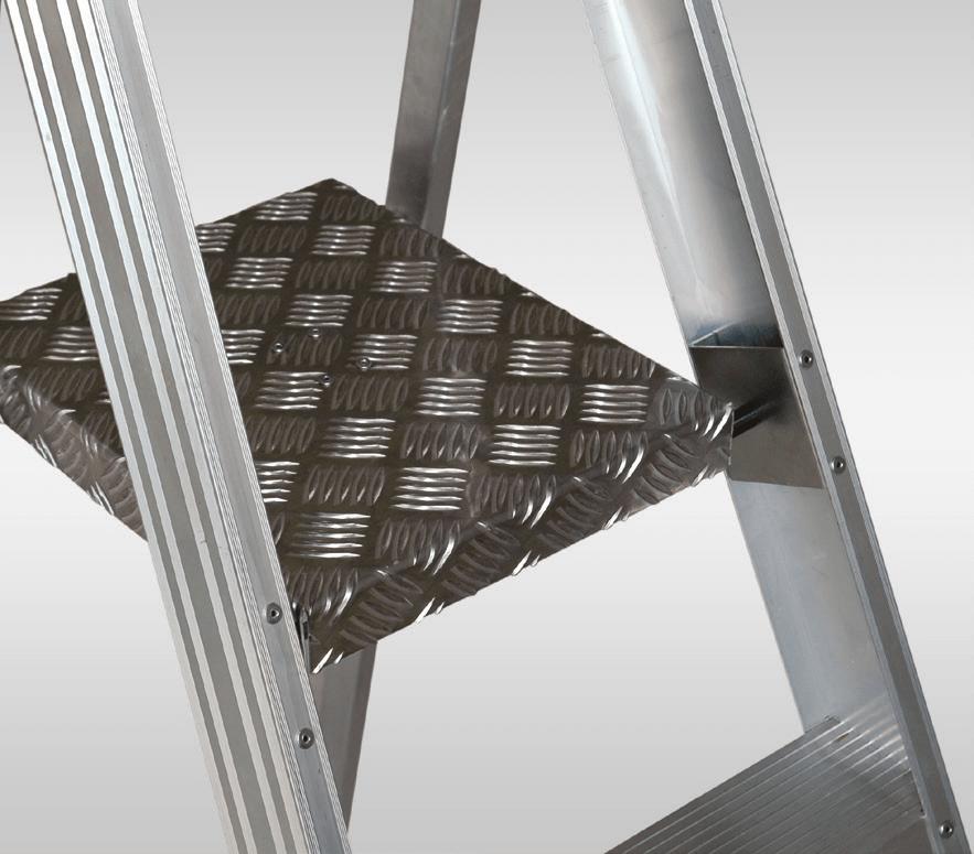 Стремянка алюминиевая ELKOP SHRP 810