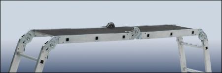 Стремянка-трансформер Elkop M 4х4 AL