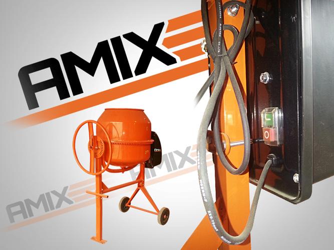 Бетоносмеситель AMIX BM-180L