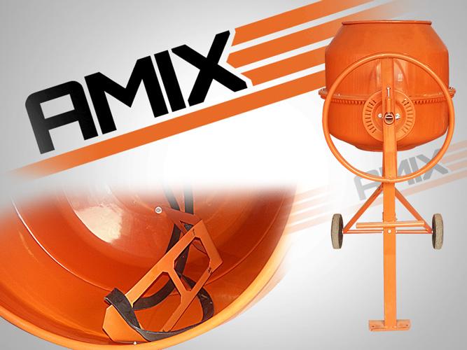 Бетоносмеситель AMIX BM-200L
