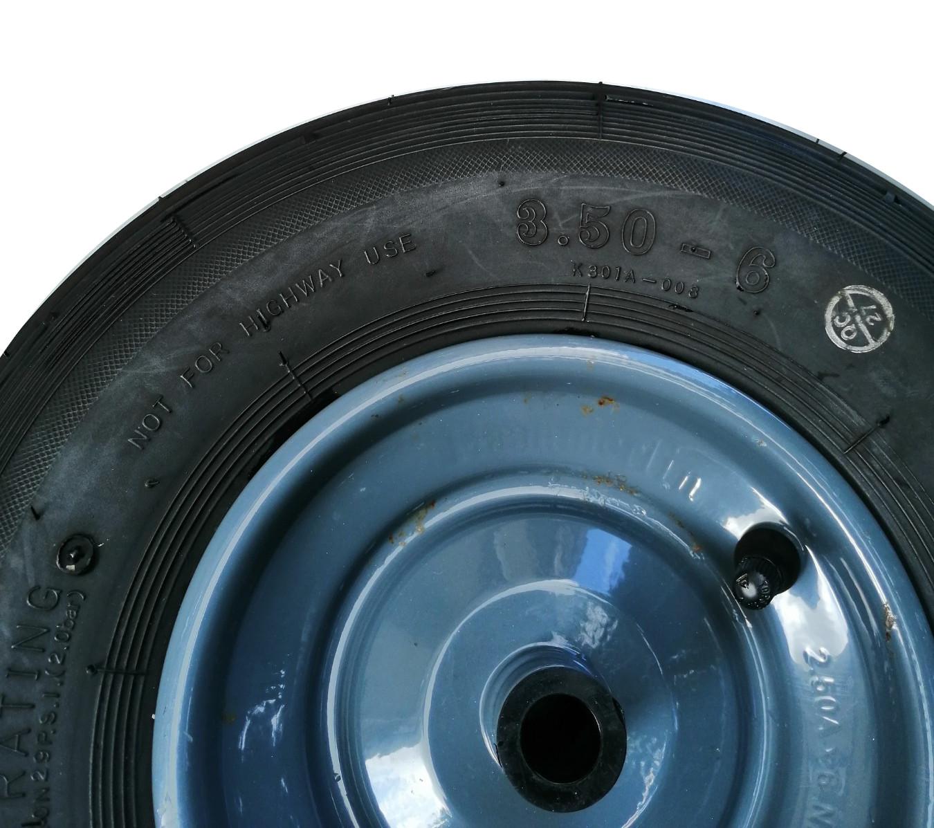 Колесо для тачки Haemmerlin PF158, 330 мм, надувное (1074, 4074)