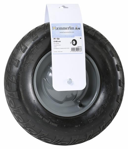 Тачка строительная одноколесная Haemmerlin CARGO BATI PLUS 110 RENO (пневмо колесо) 301251010