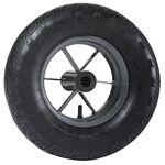 Колесо надувное с подшипником для тачки Haemmerlin PF 39, 400 мм, 309010701