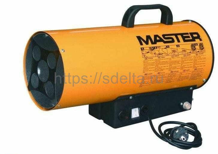 Газовая тепловая пушка MASTER BLP 70M пропан\бутан