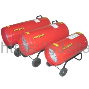 Калорифер газовый Энтузиаст J33