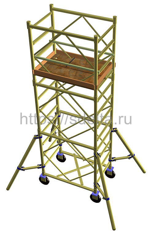 Вышка - тура УЛТ-125 Н=11.7 м.
