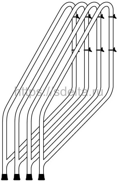 Стабилизаторы вышки-туры FARAONE RAPIDO 160, 180, 250 (артикул 165)