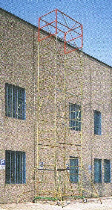 Вышка-тура стальная SVELT PROFESSIONAL NEW 12,5 м