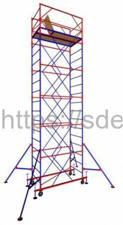 "Вышка-тура ""МЕГА 2"", Н-12,4 м( без стабилизатора)"