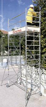 Вышка-тура алюминиевая FARAONE RAPIDO 250  8,89 м