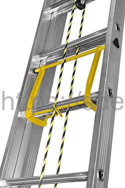 Двухсекционная алюминиевая выдвижная лестница Centaure C 2х18 NEW