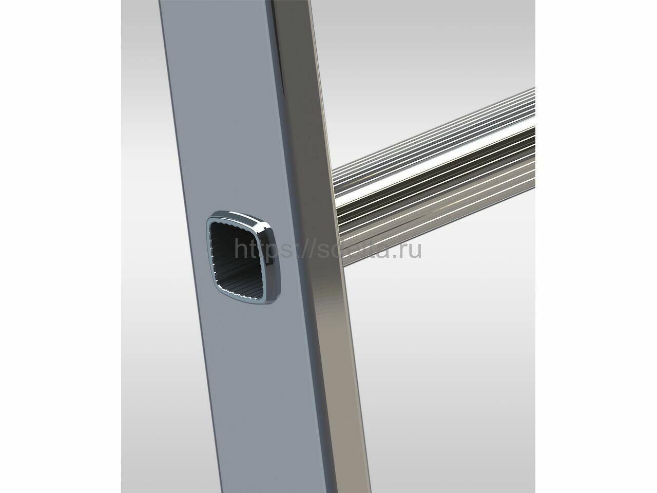 Односекционная алюминиевая лестница ELKOP VHR 1x8 HK