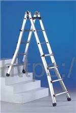 Лестница-стремянка телескопическая SVELT Scalissima 6+6