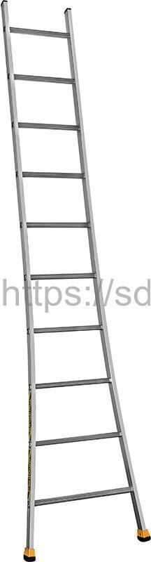 Односекционная алюминиевая лестница SЕ 10 Centaure Франция