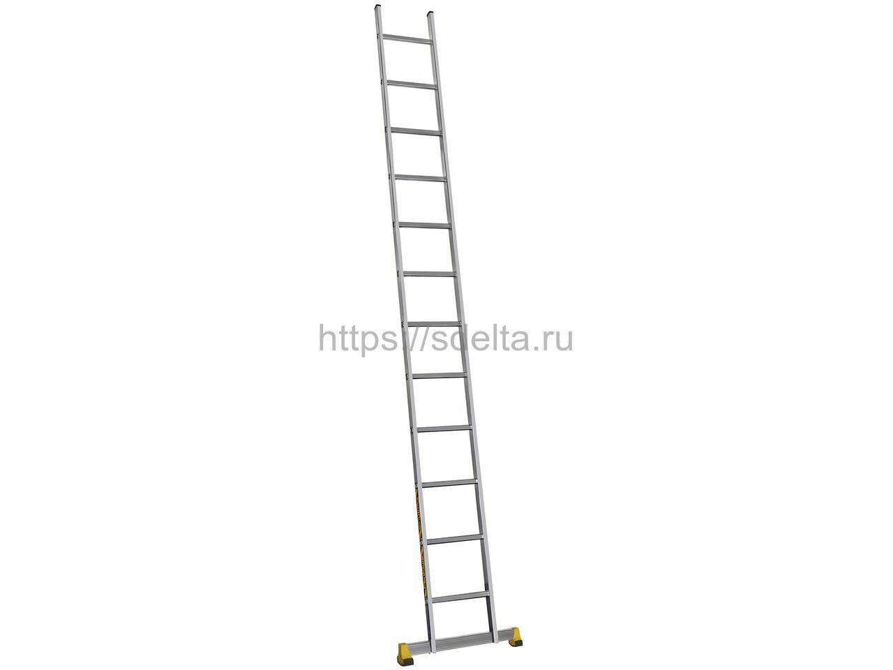 Односекционная алюминиевая лестница Centaure S 1х12 (510112)
