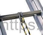 Трехсекционная алюминиевая выдвижная лестница Centaure C 3х16 NEW
