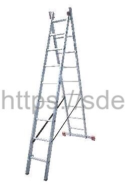 Лестница двухсекционная универсальная LWI 2х8