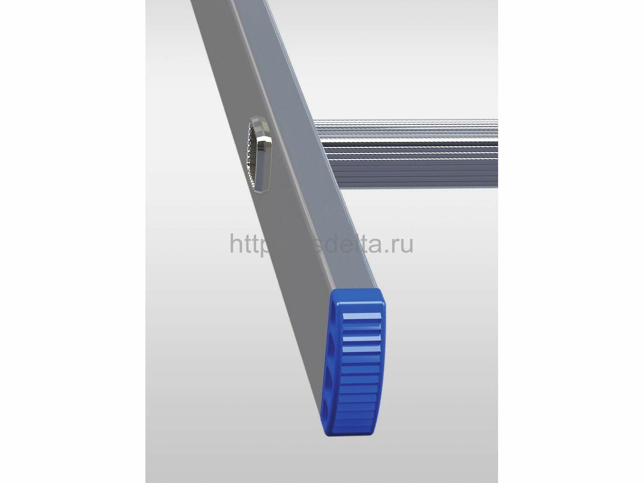 Односекционная алюминиевая лестница ELKOP VHR 1x14 HK