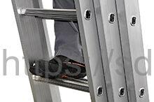 Трехсекционная алюминиевая выдвижная лестница Centaure C 3х10 NEW