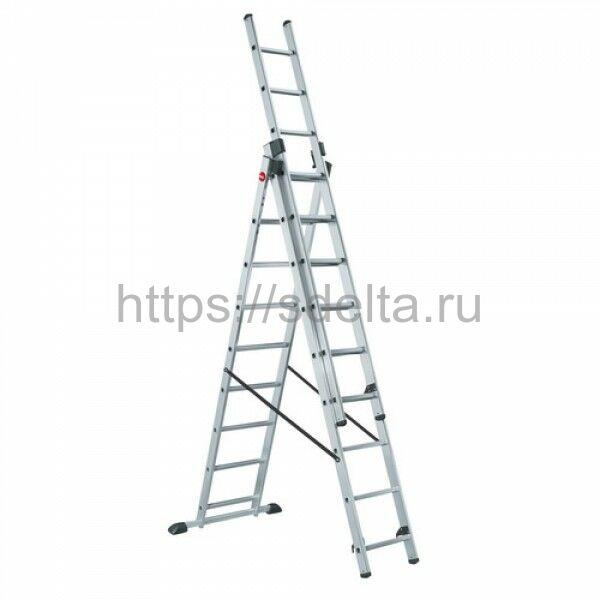 Лестница трехсекционная универсальная LWI 3х8
