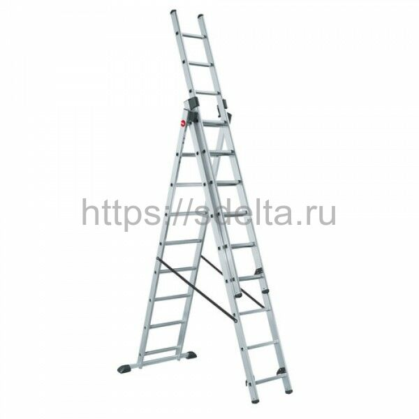 Лестница трехсекционная универсальная LWI 3х13