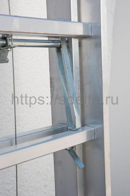 Лестница выдвижная трехсекционная FARAONE S3400/EC